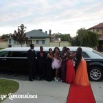 school ball chrysler limo, perth